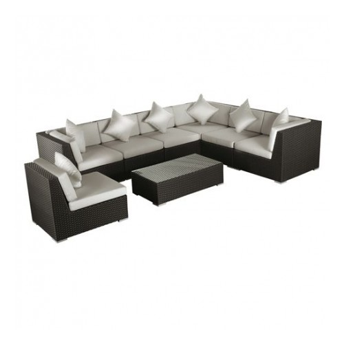 canap versailles lounge set mobilier d 39 exterieur. Black Bedroom Furniture Sets. Home Design Ideas