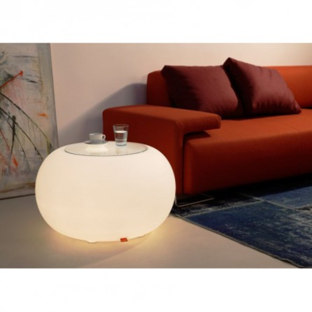 Table basse lumineuse BUBBLE