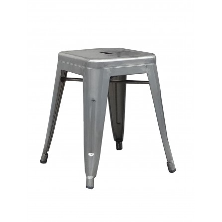 Tabouret Evolve gris brush