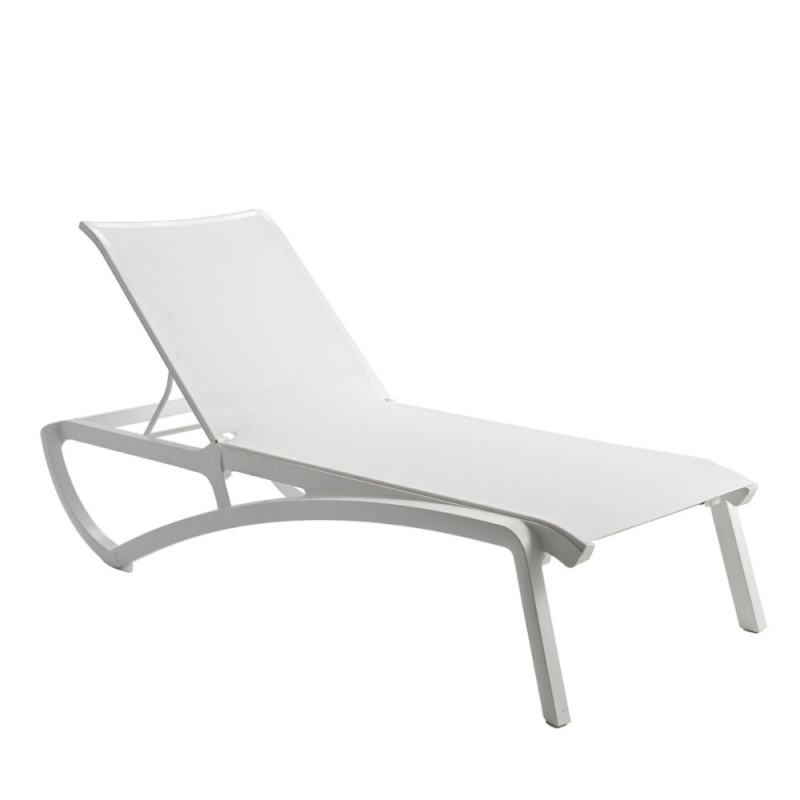 Chaise longue sunset paris design for Chaise longue piscine pas cher