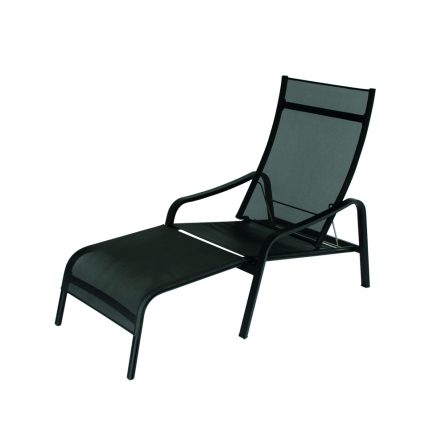 Chaise longue ALIZÉ DECK CHAIR REGLISSE