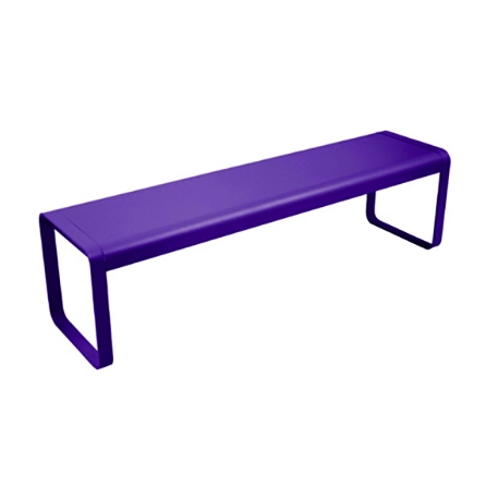 Banc BELLEVIE AUBERGINE