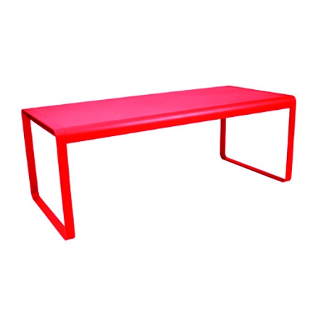 Table BELLEVIE COQUELICOT