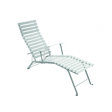 Chaise longue BISTRO GRIS METAL